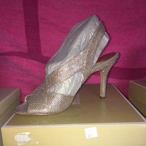 Michael Kors Becky sandal glitter